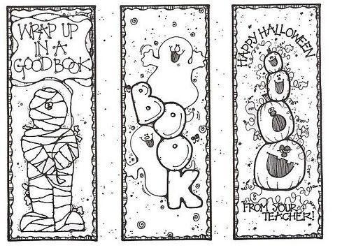 entretenidos para pintar | Marcadores Infantiles | Bookmarks