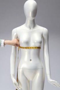 Tour dessous poitrine: Cette mesure se prend juste au dessous de la poitrine; il est préférable de porter un soutien gorge pour prendre cette mesure.