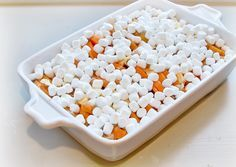 Candied+Yams+With+Marshmallows | Candied Yams with Marshmallows before baking