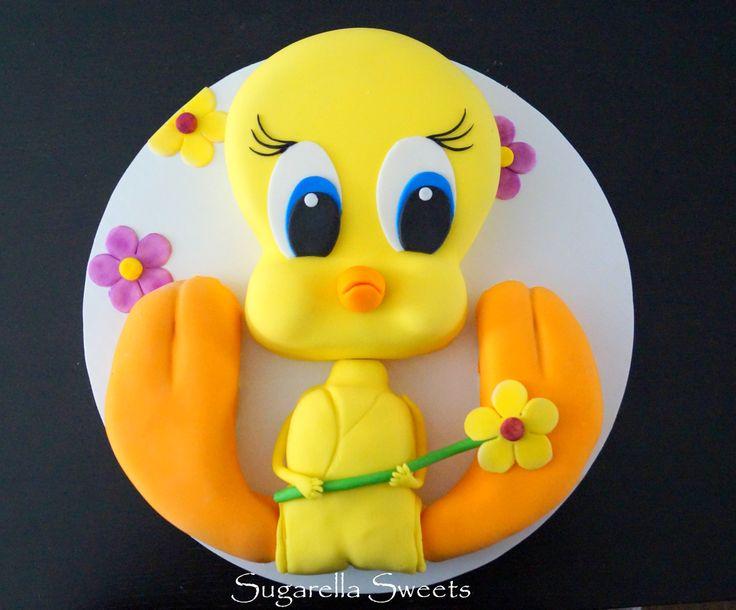 Tweety Bird Cake Pops