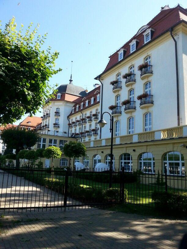 The Grand Hotel at Sopot.