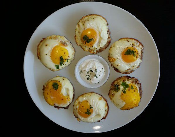 Meaty Egg Muffin