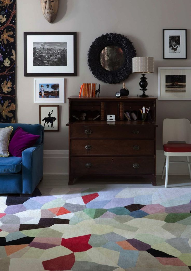 Fiona Curran For The Rug Company, Love The Color Wall For This Pallet, Go