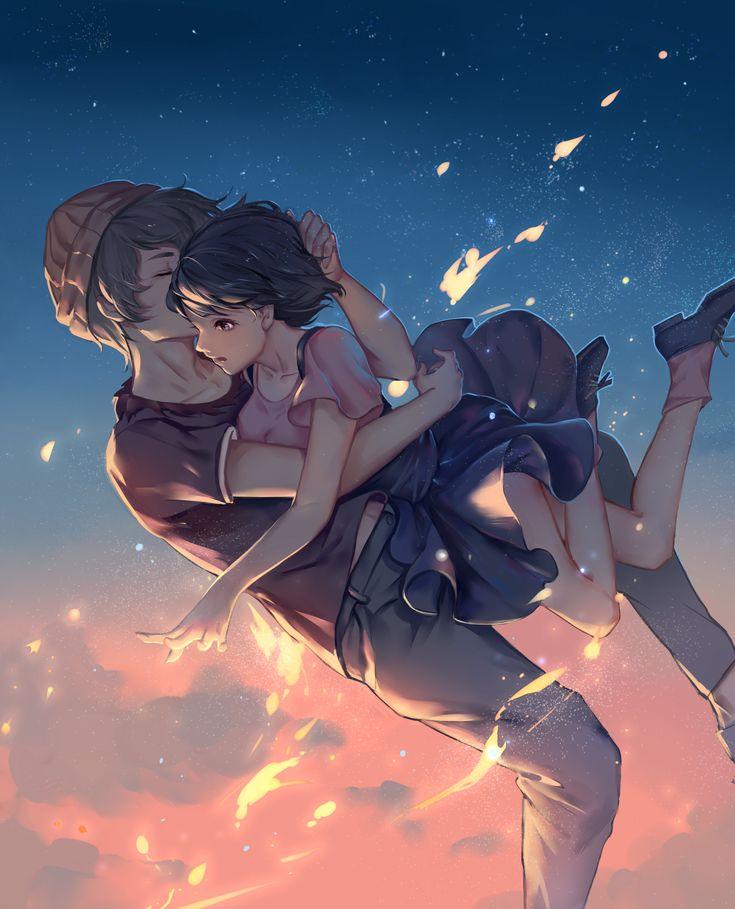 Zankyou no Terror fan art: Mishima Lisa and Twelve