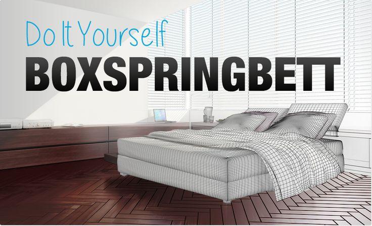 Mit speziellen Boxspring Matratzen, Lattenrosten und Toppern das Bett aufrüsten und Boxspring Feeling ins Schlafzimmer zaubern. DIY-Infos hier nachlesen!