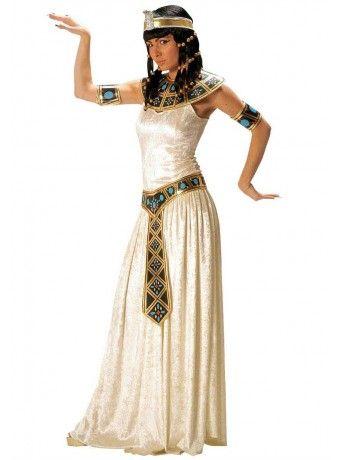Comprar Disfraz Emperatriz Egipcia para mujer. Gran surtido de disfraces y complementos de todas las fiestas temáticas: Carnaval, Halloween, navidad, despedidas, fiestas temáticas, fiestas originales.