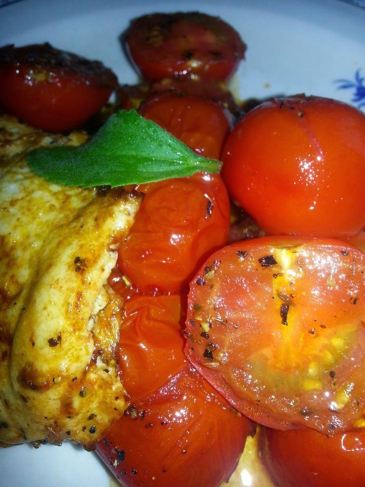 MollyRose'n'Honey: Stegte røde tomater