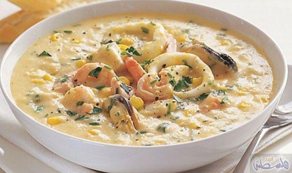وصفة طهو حساء فواكه البحر للاستفادة من فوائده Chowder Recipes Seafood Chowder Recipes Seafood Chowder