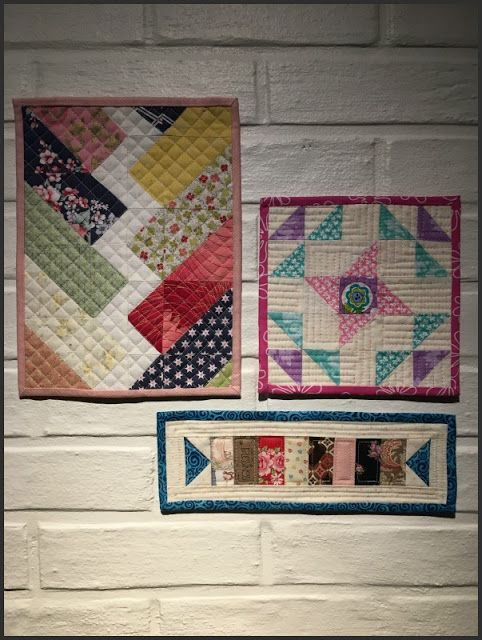Birthes rom: Monthly Mini Quilts, Mars.