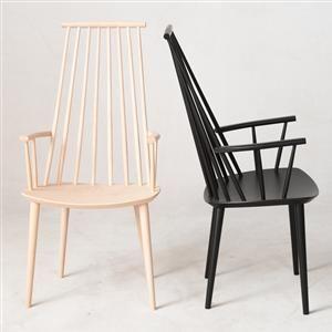 Køb og sælg moderne, klassiske og antikke møbler - Jørgen Bækmark & Poul M. Volther: 1 x stol model J104, 3 x armstol model J110 & 2 x spisebordsstol model J77 (6) - DE, Hamburg, Große Elbstraße