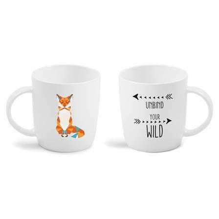 ACHICA | Vialli Design MIA NATURA Mug 370ml FOX