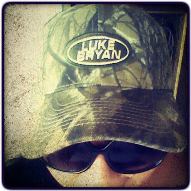 Luke Bryan Camo Hat-yes please! | Country Girl Can Survive ...