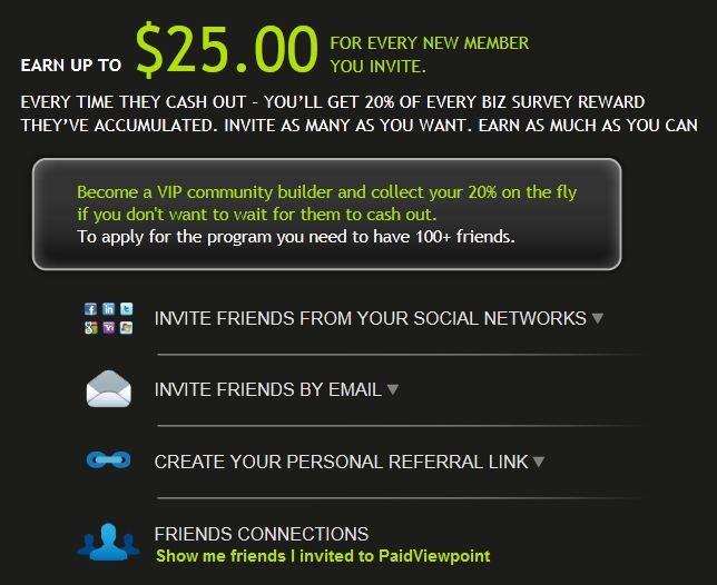 Earn up to $25 for every friend you invite!  ti pagano per rispondere dei questionari ma è in inglese ma è facile iscrivetevi con questo linght