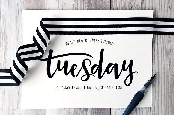 Tuesday Script by everytuesday on @creativemarket