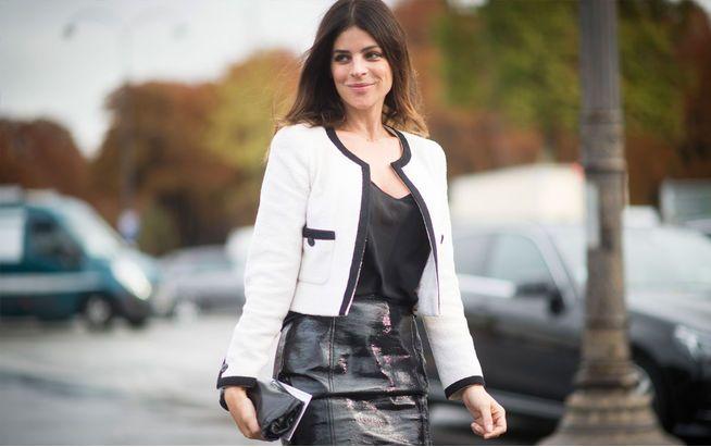 Julia Restoin-Roitfeld lebt zwar in New York, ist aber eine Bilderbuch-Parisienne