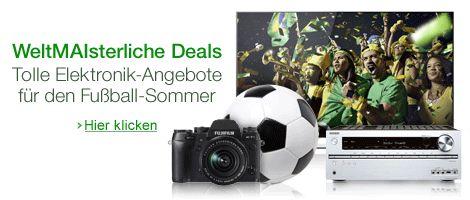 Amazon-Aktion: Täglich 5 Elektronik-Deals für den WM-Sommer - http://www.onlinemarktplatz.de/48182/amazon-aktion-taeglich-5-elektronik-deals-fuer-den-wm-sommer/