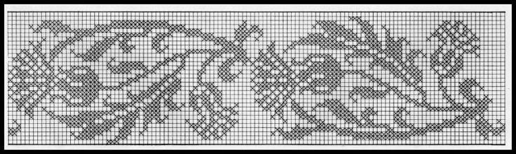 Thistle border or vertical chart: Gallery.ru / Фото #4 - amfisa - ergoxeiro