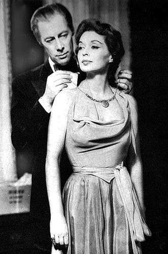 November 14, 1950: BELL, BOOK AND CANDLE, starring Rex Harrison and Lilli Palmer, opens at the Ethel Barrymore Theatre