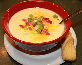 crockpot meals! :]: Crockpot Meals, Crock Pot, Baking Potatoes Soups, Beef Stew, Cheese Soups, Crockpot Recipes, Loaded Baking Potatoes, Loaded Potatoes Soups, Loaded Baked Potatoes