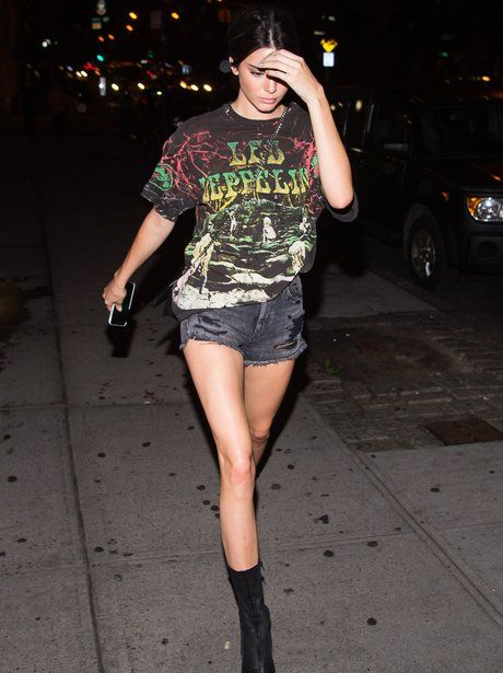 17 Best Images About Celebrities In Band T Shirts On