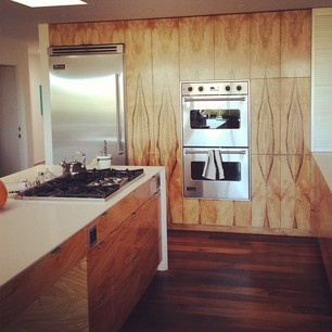 Mango wood in the kitchen #grain