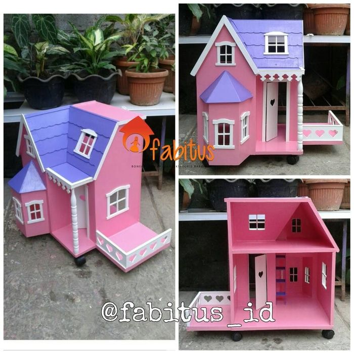 Fabitus Barbie House : Rumah Villa Teras