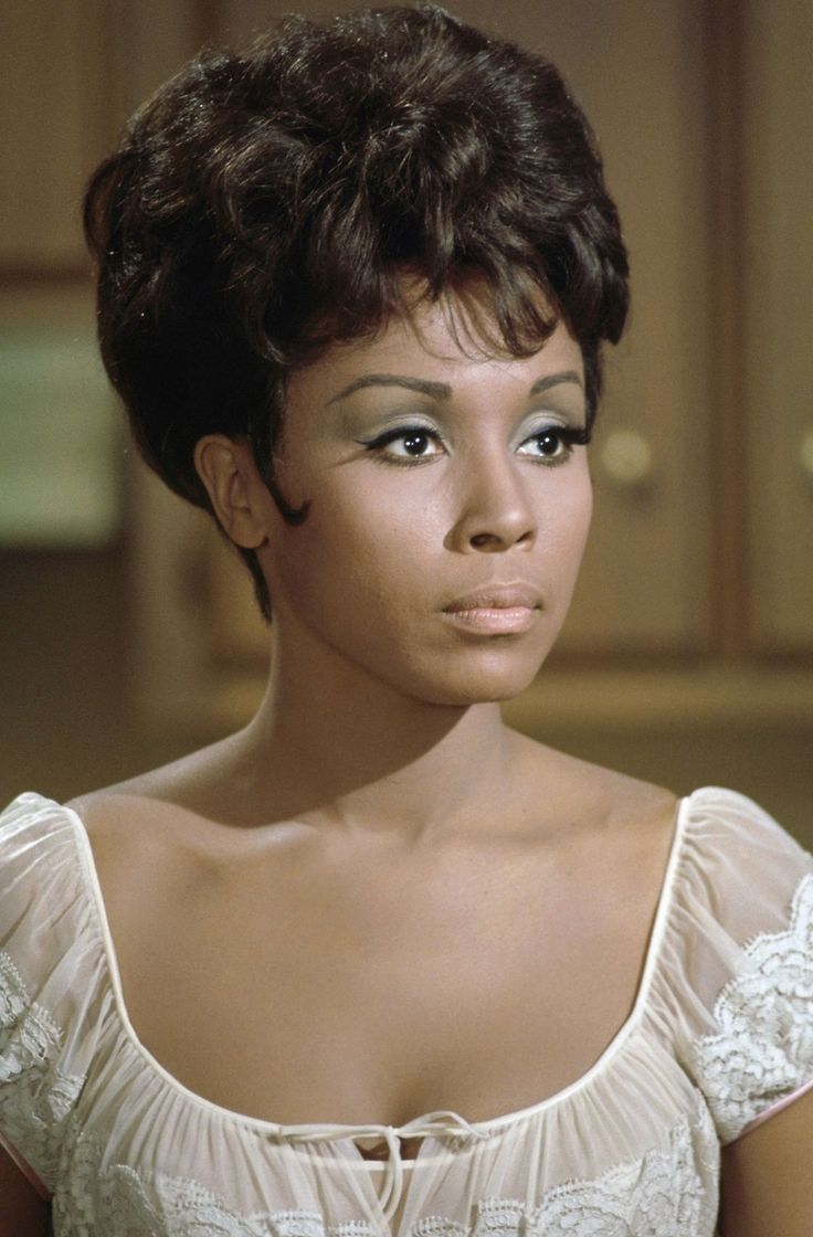 Diahann Carroll - born Carol Diahann Johnson July 17, 1935 The Bronx, New York. The first black actress to star in her own TV series, Julia (1968).