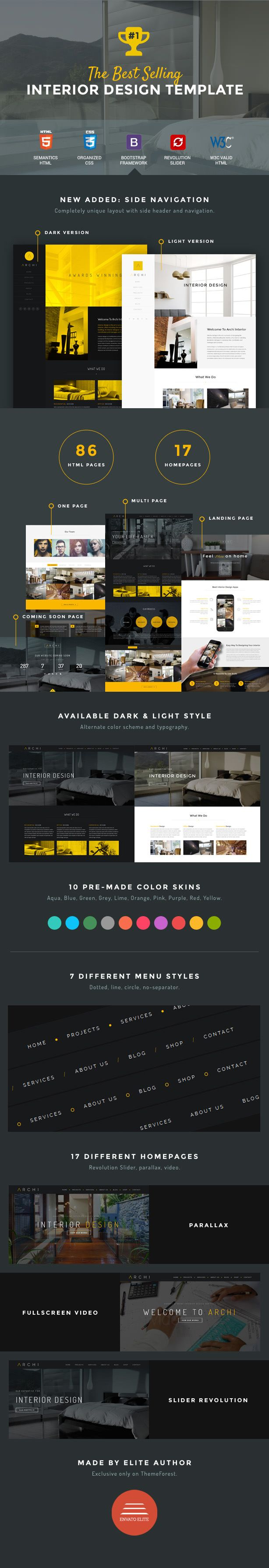 48 best Architecture Web Templates images on Pinterest | Website ...