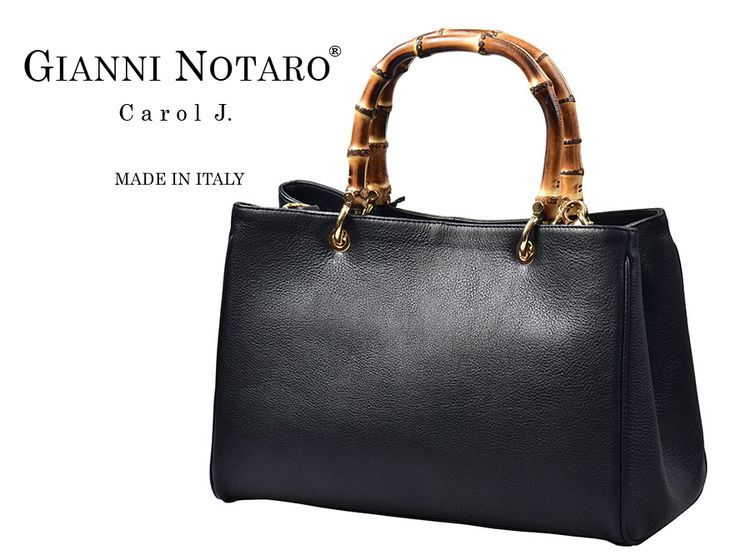 Resort fashion in your... hands with Gianni Notaro, wooden-detailed handbags. Discover yours in Galleria Di Scarpe.