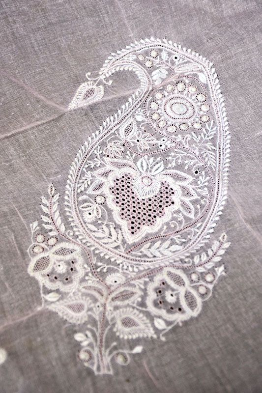 Design Resource - Chikankari Embroidery of Lucknow II - Stitches - 1