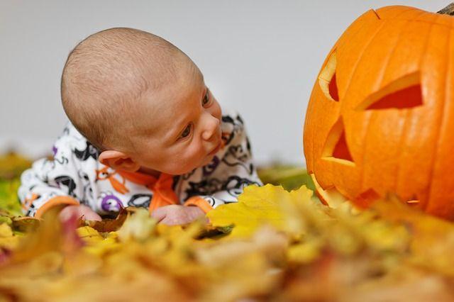 Aanbiddelijk, Herfst, Baby, Jongen, Kind, Kostuum, Cute