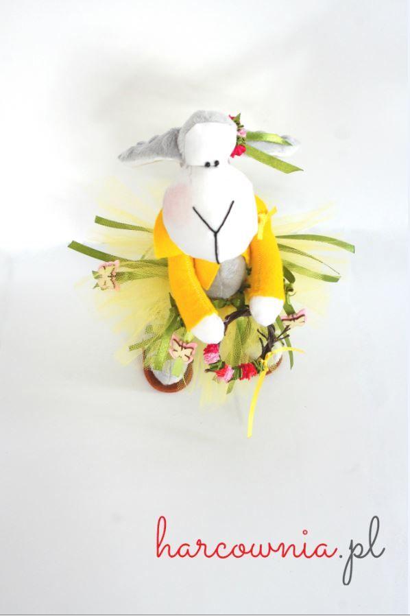 """zwierzak - Kasia - Unikaty tworzone z miłością i pasją """"Kasia"""" - tilda / owca"""