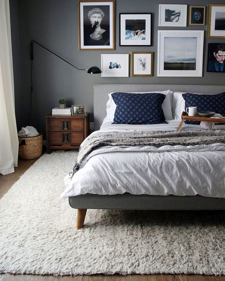 Best 25+ Dark gray bedroom ideas on Pinterest | Master bedroom ...