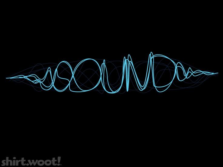 blue sounds waves