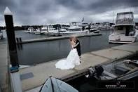 Wedding couples are welcome to use our Marina for their photos..