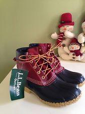 LL Bean Boots Women's 6