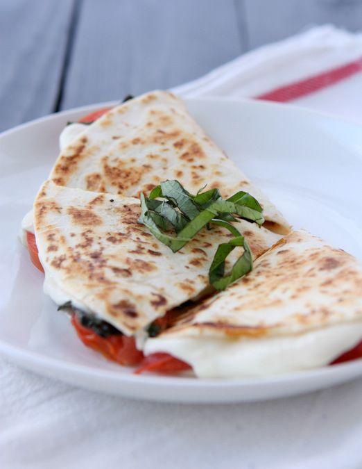 Margherita Pizza Quesadilla
