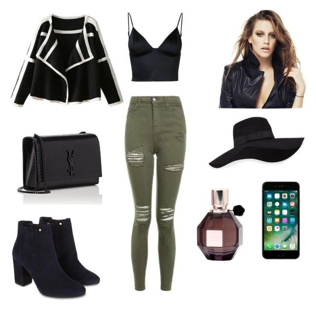 """""""Vapor💨"""" by conimallete on Polyvore featuring moda, Topshop, T By Alexander Wang, Monsoon, Yves Saint Laurent, San Diego Hat Co. y Viktor & Rolf"""