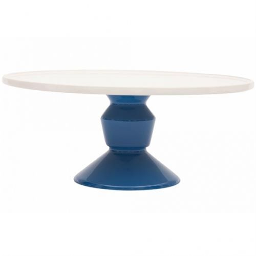 Jansen and Co Cake Stand Large Blue
