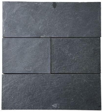 L 053X Pizarra Negra Textura Natural 60x30x1 cm