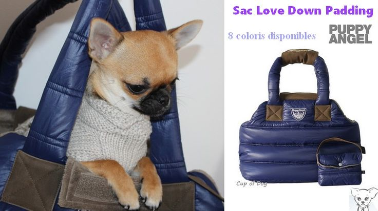 Sac de transport pour chien Puppy Angel Love Down Padding https://www.cupofdog.fr/puppy-angel-m-17.html