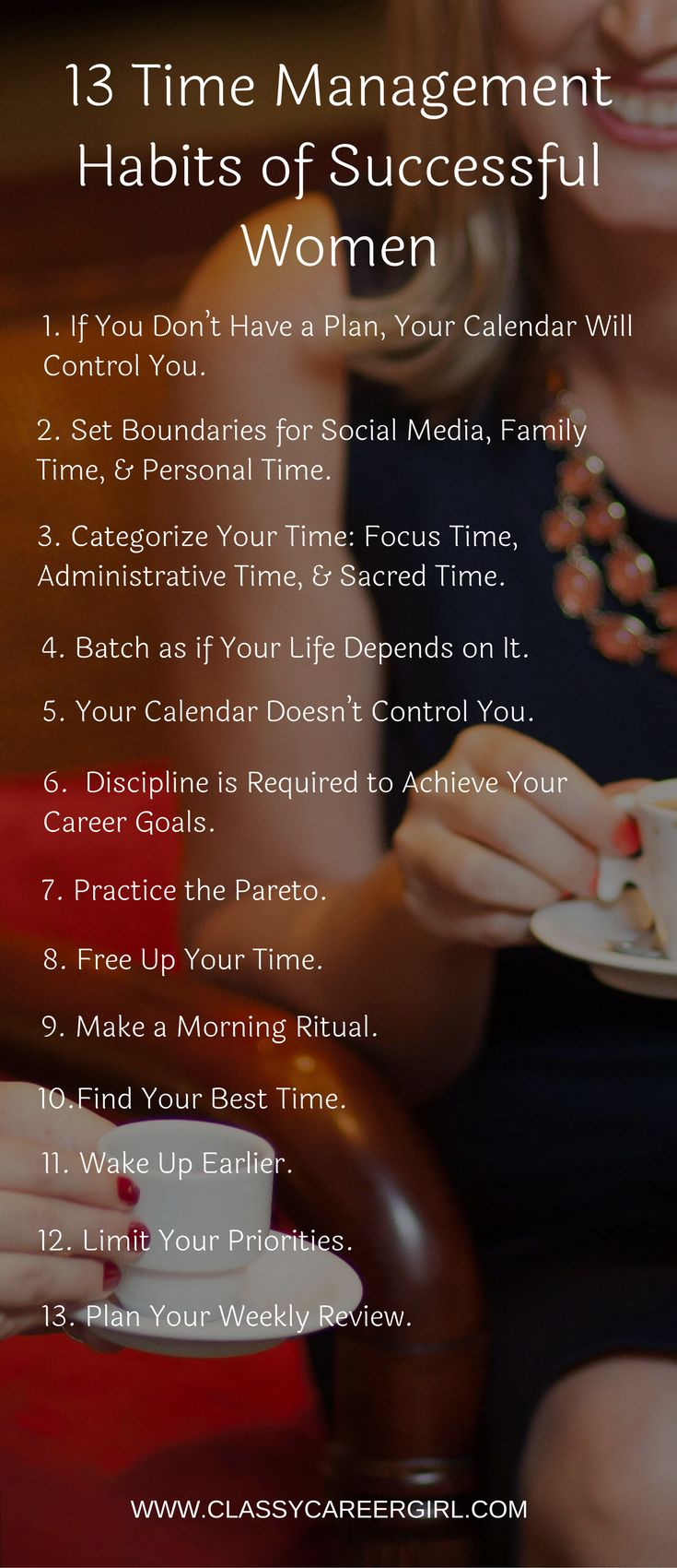 13 Time Management Habits of Successful Women - Tap the link now to Learn how I made it to 1 million in sales in 5 months with e-commerce! I'll give you the 3 advertising phases I did to make it for FREE!