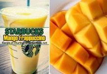 Mango Frappuccino | Starbucks Secret Menu