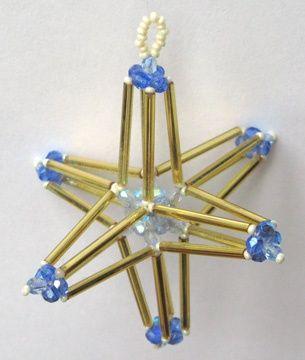 3-D Bead Star Pattern at Sova-Enterprises.com