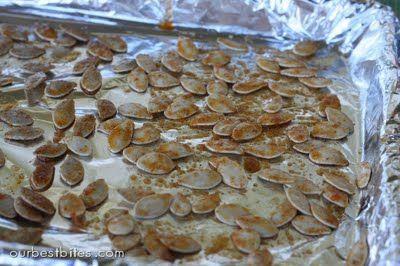 Homemade Pumpkin & Toasted Pumpkin Seeds | Our Best Bites