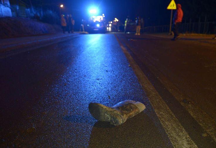 28-01-16 Wypadek w Wapowcach - fot. zbiory własne