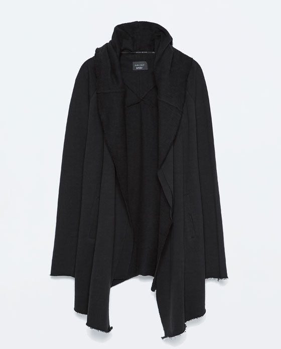 ZARA - MAN - PLUSH CAPE