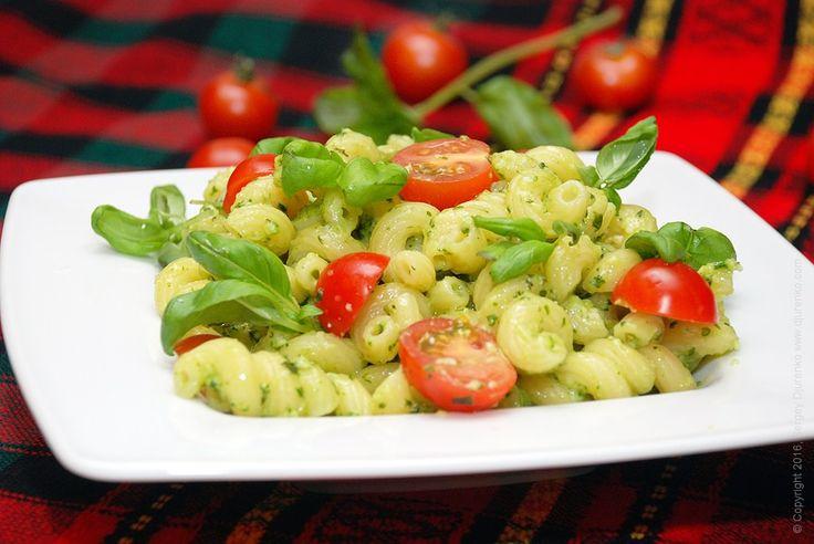Паста с базиликом - самый протой способ приготовить соус к пасте