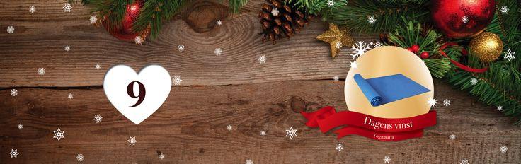 SpaDreams julkalender – #tävling    Dagens vinst är en yoga matta för att komma igång med att träna!  💝 🌟 🎁 *** HUR GÖR DU FÖR ATT DELTA? *** 🎁 🌟 💝  🎅: Räkna antalet pepparkakor på dagens temasida https://www.spadreams.se/ayurveda/yogaresor/  🎅: Fyll i ditt svar på julkalenderns hemsida:    🎅: Glöm inte att komma tillbaka imorgon för att tävla om nästa vinst