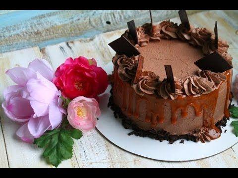 Торт брауни с карамелью (рецепт под видео) - YouTube